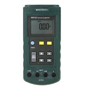MASTECH MS7221 Voltage Current Calibrator DC Current Loop / DC Voltage Tester