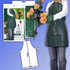 Garden Apron, Water Repellent, Washable 72x55cm Gardener Work Apron