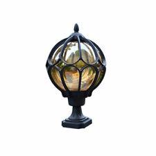 Outdoor Pillar lamp globe glass shade door post lamp waterproof antique lighting