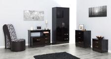 MDF Pieces Bedroom Furniture Sets with Wardrobe 5