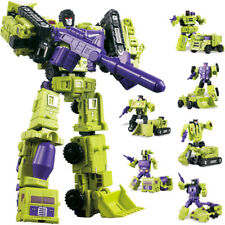 Mini 6in1 Combiner Transformers Action Figures Engineering Devastator Toy TF NBK