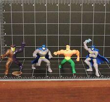 Batman Brave & Bold Joker toy figure McDonalds 2011 lot ot 4 two face Aquaman