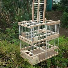 Cage with one Trap // Hunting Birds Cage // Expert disarm system