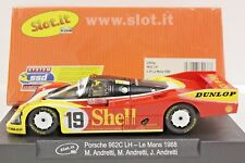 SLOT IT SICA03G PORSCHE 962C LH Mario Andretti Le MANS 1988 NEW 1/32 SLOT CAR