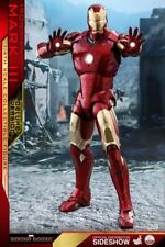 Hot Toys Iron Man Mark III 1:4 Scale Figure (Deluxe Version) QS012