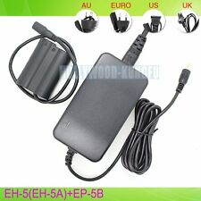 AC power adapter EH-5 EH-5A +EP-5B For Nikon D7000 D7100 D750 EN-EL15 Battery