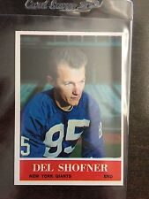 1964 PHILADELPHIA #123 DEL SHOFNER *GIANTS ** KRF-9211