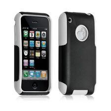 Housse étui coque pour Apple Iphone 3G/3GS couleur blanc + Film de protection