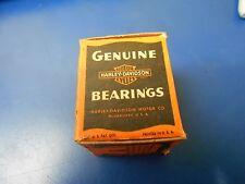 OEM HARLEY DAVIDSON 45 FLAT HEAD +.001 OVER ROD BEARINGS & CAGES PN 24375-29