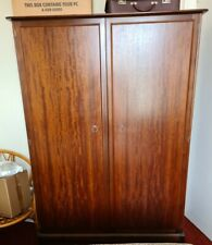 More details for wooden wardrobe with matching headboard (bed included)