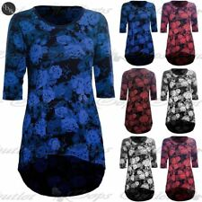 Unbranded Plus Size Floral Viscose Tops & Shirts for Women