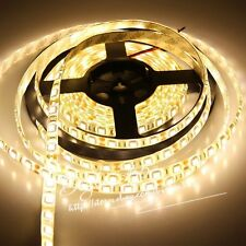 5M 5050 SMD 300 Leds Warm White Flexible LED Strip Light IP20 Decor Ribbon Lamp