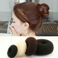Hair Donut Bun Maker Doughnut Ring Shaper Styler Up Magic Roll Foam Mesh Sponge