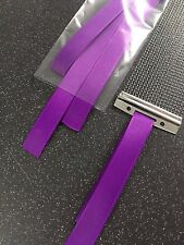 6 x Snare Wire Straps Ribbon String Cord Snare Drum Wires PURPLE hi quality