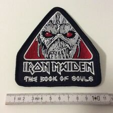 Iron Maiden - The Book Of Souls Aufnäher/Patch (gestickter Iron Maiden Aufnäher)
