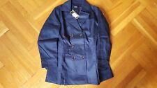 New with Tag Jacket women's Dark Blue Sz L / XL Raincoat Coat Windbreaker
