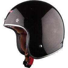 Gloss Fibreglass Motorcycle Plain Vehicle Helmets