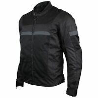 Advanced 3-Season Mesh/Textile CE Armor Motorcycle Jacket