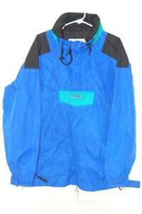 Vintage Columbia Jacket Sportswear Radial Sleeve Jacket Men's Size L Blue Green