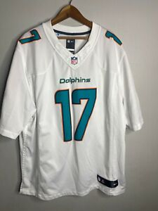 Miami Dolphins Ryan Tannehill White Jersey Men's Size XL