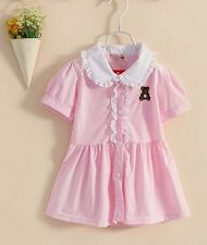 Gorgeous Girl Toddler Kids Dress Pink 90cm