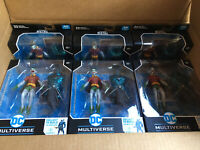 *IN HAND* - ROBIN McFarlane Dark Nights Metal Figure & Merciless BAF *READ
