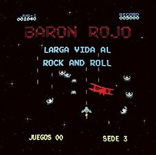 LP BARON ROJO   LARGA VIDA AL ROCK AND ROLL VINYL SPANISH HEAVY METAL  CHAPA