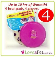 Snugglesafe Microwave Heat Pad For Pets - 4 PACK SUPER SAVER + Free Post!
