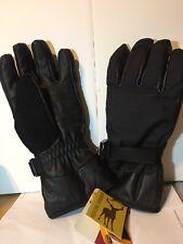 dceef50316208 NORTHSTAR Gander Mountain Black Genuine Deerskin Glove Size LARGE