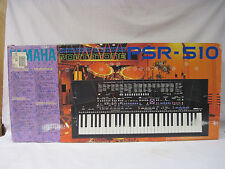 Yamaha PSR-510 61 Key Portable Electronic Keyboard Synthesizer Piano          EH