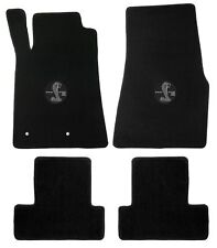 Mustang Carpet Floor Mats w/Shelby GT500 Circle Logo 2005-2010 Coupe & Conv.