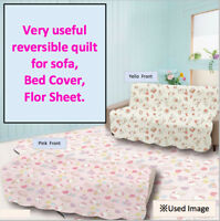 SANRIO Hello Kitty Cute reversible quilt multi-cover for sofa bed floor
