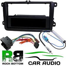 VW Passat B6 2005-2010 Single DIN Car Stereo Radio Fascia Panel & Fitting Kit