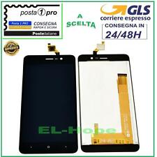 DISPLAY LCD WIKO LENNY 4 TOUCH SCREEN VETRO SCHERMO MONITOR 5,0'' NERO