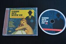 COME SPY WITH US RARE CD! SECRET AGENT JOHN BARRY LALO SCHIFRIN NANCY SINATRA