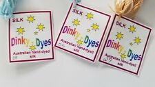 Dinky Dyes Australian Hand Dyed Silk You Choose Your Colors