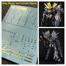 D.L high quality Bronzing Decal water paste For Bandai RG RX-0 Banshee RG23