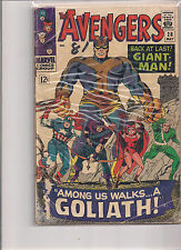 Avengers #28 Comic Book from 1966. 1st Printing, 1st Appearance of The Collector