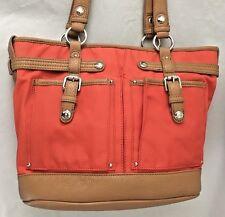 Orange Brown 5x10x14 Tyler Rodan Bag Purse Two 20 Strap