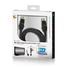 Original Playfect 360 Giratoria Cabeza avanzada Cable Hdmi Para Ps3 Xbox 360 pft73850