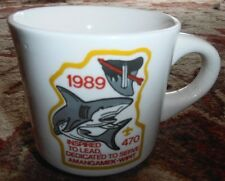 Amangamek Wipit Coffee Mug Cup  Lodge Order of the Arrow Shark 1989 470