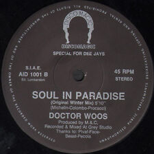 ICE MC / DOCTOR VOOS - Special For Dee Jays 1 (Scream / Soul In Paradise)