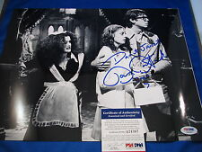 BARRY BOSTWICK HAND SIGNED BRAD MAJORS ROCKY HORROR 11X14 PSA COA S24367