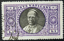 Timbre / Stamp VATICAN Yvert et Tellier n°53 Obl (Cyn9)