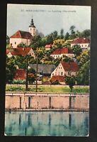 """AK Litho """"St. Margarethen bei Lebring"""" Steiermark 1918 gelaufen Zensur"""