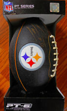 NEW Pittsburgh Steelers LaMarr Woodley Autographed Full Size Football & Tee $99
