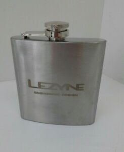 Lezyne Whisky Spirit Classic Stainless Steel Flask for cycling