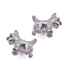 Sterling Silver 925 Scottie Earrings Pure Origins Sea Gems Scotty Dog Lovers
