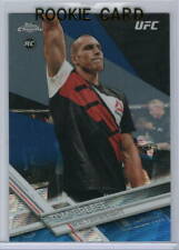 TOM BREESE 2017 Topps Chrome UFC (2/75) BLUE REFRACTOR Rookie RC #93 Gem Mint UK