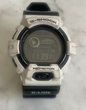 Casio G-Shock Solar GWX-8900B 3279 Black White  WR 20 Bar Quartz Digital Watch